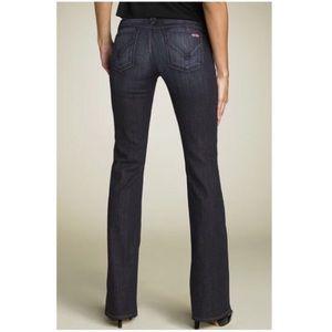 """HUDSON Jeans Dark Wash Boot Cut Jeans 34""""L"""